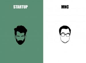 Startup-vs-MNC