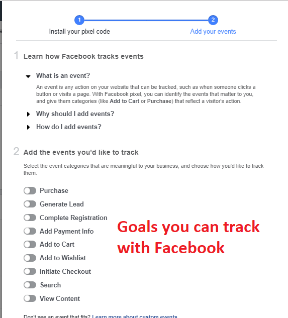 Facebook-Events-Code