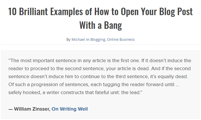 A Definitive Guide To Writing The Perfect Blog Post
