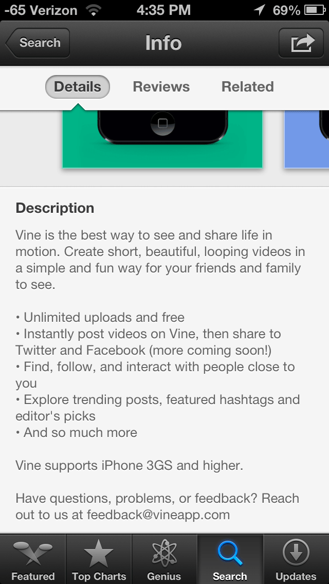 vine-app-description