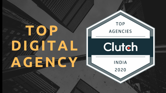 Rated as the top 50 Indian agencies  by Clutch.co [2020]